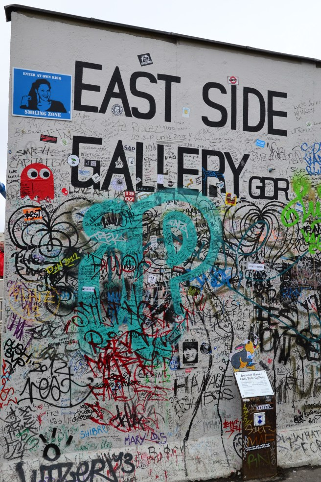 The longest standing stretch of the Berlin wall that international artists have made into a gallery.